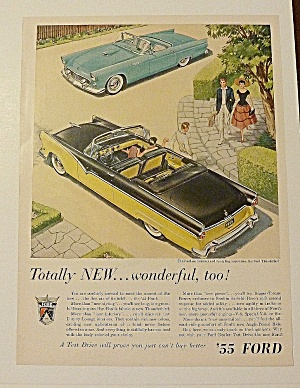 1955 Ford With Fairlane Sunliner & The Thunderbird