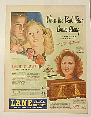 1950 Lane Hope Chest With Shirley Temple (Image1)