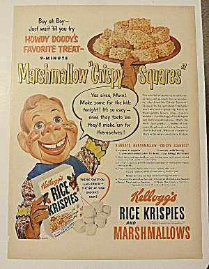 1951 Kellogg's Rice Krispies with Howdy Doody (Image1)