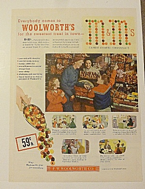 1952 Woolworth's With M & M's Candy