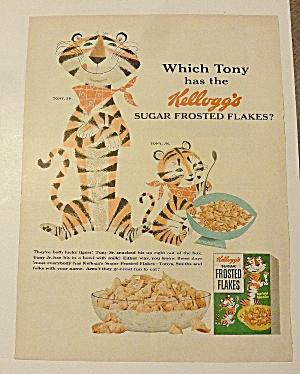 1954 Frosted Flakes With Tony Sr. & Tony Jr. (Image1)