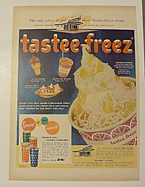 1956 Tastee - Freez With Shakes & More