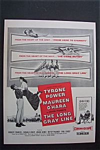 1955 The Long Gray Line With Tyrone Power