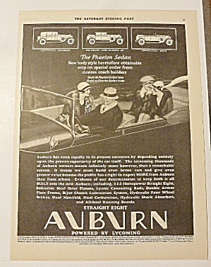 1928 Auburn With The Phaeton Sedan