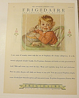 1928 Frigidaire With Baby Eating (Image1)