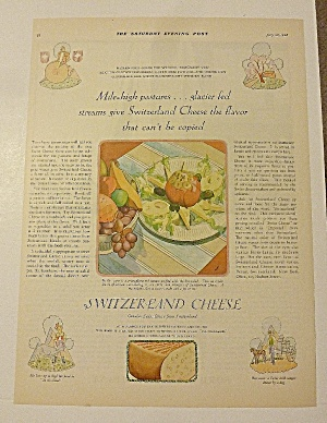 1928 Switzerland Cheese With Cheese With Stuffed Tomato (Image1)