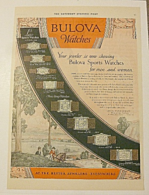 1928 Bulova Watches With Sport Watches