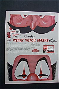 1955 Halloween Weeny Witch Mask