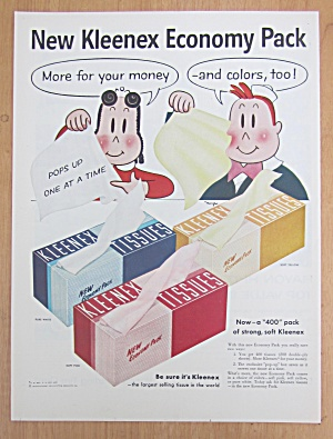 1955 Kleenex Tissues with Little Lulu & Her Friend (Image1)