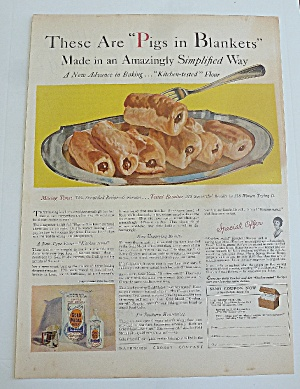 1929 Gold Medal Flour With Pigs In Blanket