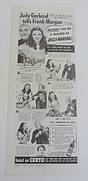 1939 Certo With Dorothy & The Wizard (Image1)