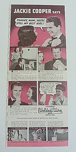 1939 Welded Wire With Jackie Cooper (Image1)