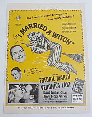 1942 I Married A Witch With Veronica Lake