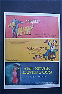 1955 The Seven Little Foys With Milly Vitale