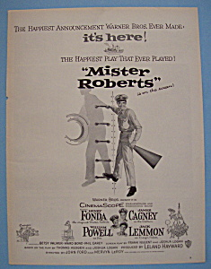Vintage Ad: 1955 Mister Roberts With Henry Fonda