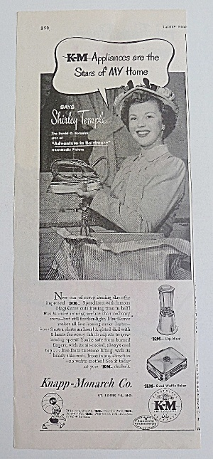 1949 K-M Appliances With Shirley Temple (Image1)