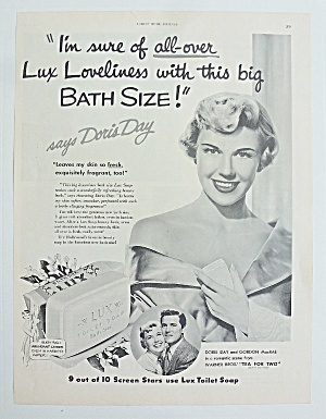 1950 Lux Soap With Doris Day (Image1)