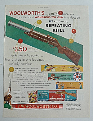 1950 Woolworth's With Jet Automatic Repeating Rifle  (Image1)