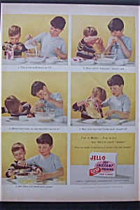 Vintage Ad: 1955 Jell O Instant Pudding