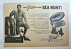 1958 Voit Swim Equipment W/ Sea Hunt's Lloyd Bridges