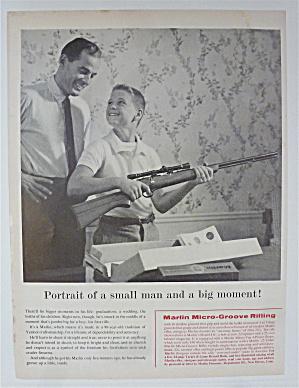 1959 Marlin Micro-Groove Rifle with Boy Holding Rifle  (Image1)