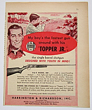 1958 Vintage Harrington & Richardson Topper Jr Shotgun