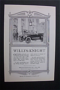 1920 Dual Ad: Chandler Six & Willys Knight