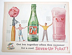 1958 7Up With Seven Up Float (Image1)