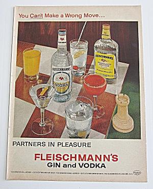 1963 Fleischmann's Vodka With Many Different Drinks (Image1)
