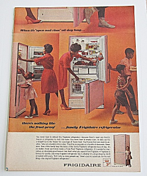 1963 Frigidaire With Woman Helping Children