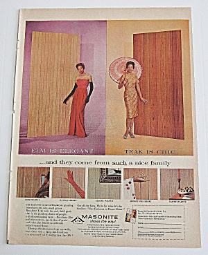 1963 Masonite With Elegant And Chic