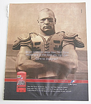 2003 Old Spice Red Zone Deodorant With Brian Urlacher (Image1)