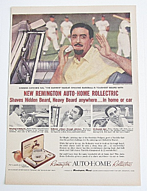 1956 Remington Rollectric With Sal Maglie (Image1)