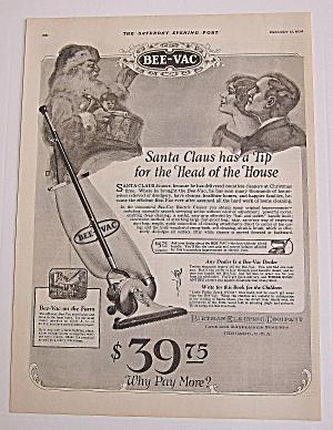 1924 Bee-Vac With Santa Claus & Man & Woman (Image1)