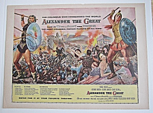 1956 Alexander The Great With Richard Burton
