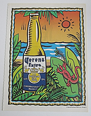 2000 Corona Extra Beer With Bottle Of Beer (Image1)
