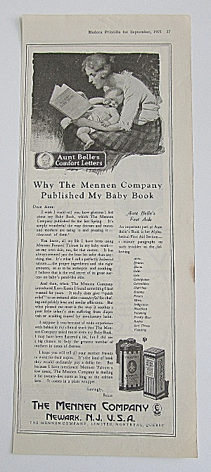 1921 Mennen Company With Aunt Belle's Comfort Letters (Image1)
