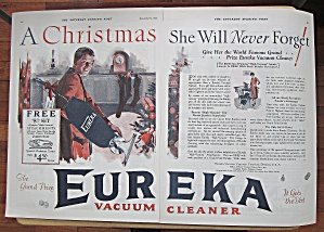1925 Eureka Vacuum Cleaner With Vacuum