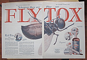 1927 Flytox With Dead Fly
