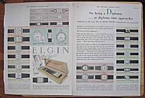 1929 Elgin With Many Different Watches