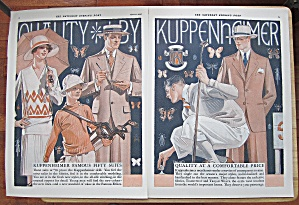 1928 Kuppenheimer With Famous Fifty Suits