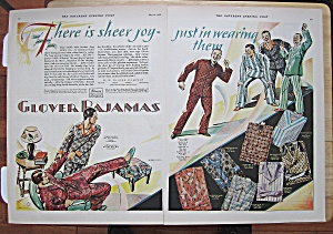 1928 Glover Pajamas With Men In Pajamas