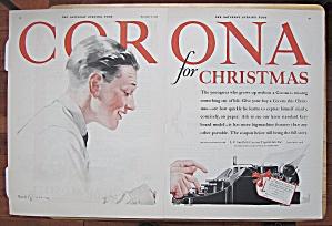 1926 Corona With Man Typing On Typewriter (Image1)
