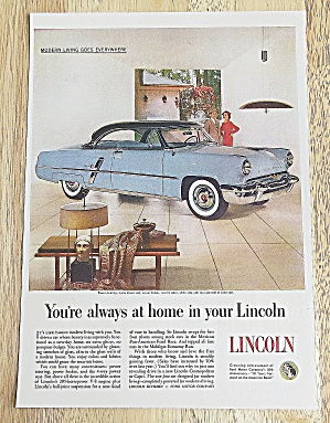 1953 Lincoln With Cosmopolitan Or Capri