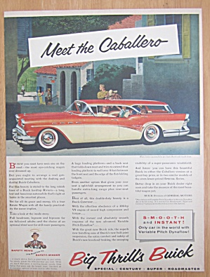 1957 Buick With The Caballero