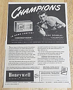 1949 Honeywell Thermostat With Kirk Douglas (Image1)