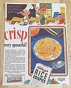 1941 Kellogg's Rice Krispies W/ Snap, Crackle & Pop (Image1)