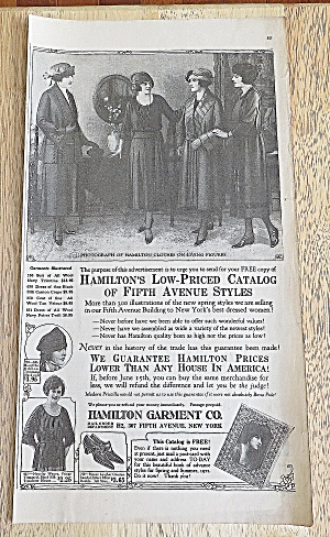 1922 Hamilton Garment With Women Talking