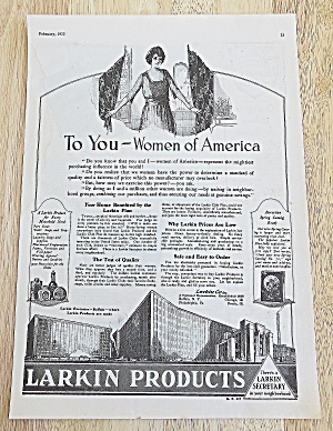 1922 Larkin Products With Women Of America