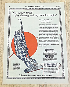1928 Premier Duplex With Vacuum Cleaner